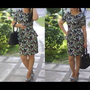 💐NWOT💐 H&M Floral peplum dress
